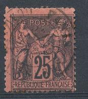 N°91 BEAU CACHET A DATE - 1876-1898 Sage (Type II)
