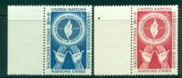 UN New York 1953 Human Rights Day MUH Lot40850 - New York -  VN Hauptquartier