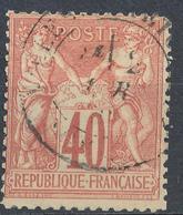 N°70   BEAU CACHET A DATE - 1876-1878 Sage (Type I)