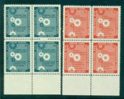 UN New York 1957 Honouring The Economic & Social Council Blk 4 MUH Lot40901 - New York -  VN Hauptquartier