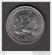 USA, 2013, 25¢, Mount Rushmore, Escalade, Climbing, Monument, Sculpture - Émissions Fédérales