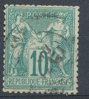 N°65  BEAU CACHET A DATE - 1876-1878 Sage (Type I)