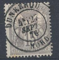 N°66 BEAU CACHET A DATE - 1876-1878 Sage (Type I)