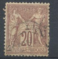 N°67  BEAU CACHET A DATE - 1876-1878 Sage (Type I)