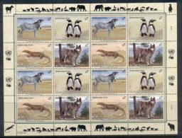 UN Vienna 1993 Endangered Species Sheet MUH - Vienna – International Centre