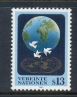 UN Vienna 1993 World Peace MUH - Vienna – International Centre