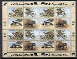 UN Vienna 1994 Endangered Species Sheet MUH - Vienna – International Centre