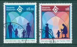 UN Vienna 1994 Intl. Year Of The Family CTO Lot65985 - Vienna – International Centre