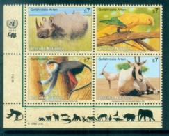 UN Vienna 1995 Endangered Species Blk4 MUH - Vienna – International Centre
