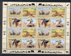 UN Vienna 1995 Endangered Species Sheet MUH - Vienna – International Centre
