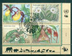 UN Vienna 1996 Endangered Species Blk 4 CTO Lot66080 - Vienna – International Centre