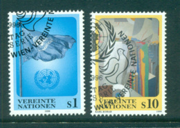 UN Vienna 1996 Flag & Abstract CTO Lot65979 - Vienna – International Centre