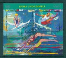 UN Vienna 1996 Sport & Environment MS CTO Lot66097 - Vienna – International Centre
