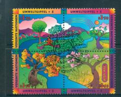 UN Vienna 1997 Earth Summit Blk 4 CTO Lot66098 - Vienna – International Centre
