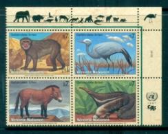 UN Vienna 1997 Endangered Species Blk4 MUH - Vienna – International Centre