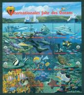 UN Vienna 1998 Intl. Year Of The Ocean Sheetlet 12 MUH Lot40949 - Vienna – International Centre