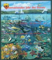 UN Vienna 1998 Intl. Year Of The Oceans MS MUH - Vienna – International Centre