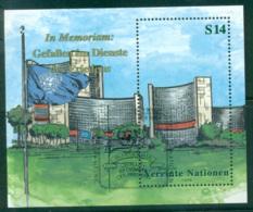 UN Vienna 1999 In Memoriam MS CTO Lot66094 - Vienna – International Centre