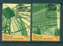 UN Vienna 2000 UN Anniv. CTO Lot65993 - Wien - Internationales Zentrum