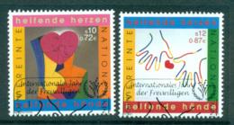 UN Vienna 2001 Intl. Volunteers Year CTO Lot65991 - Wien - Internationales Zentrum