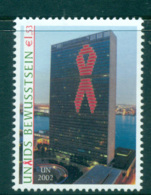 UN Vienna 2002 AIDS Awareness MUH Lot66074 - Vienna – International Centre
