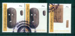 UN Vienna 2002 Timor Independence CTO Lot66002 - Wien - Internationales Zentrum