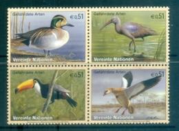 UN Vienna 2003 Endangered Species Blk4 MUH - Vienna – International Centre