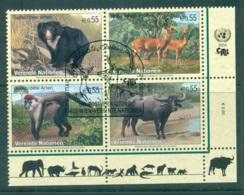 UN Vienna 2004 Endangered Species Blk 4 CTO Lot66075 - Vienna – International Centre