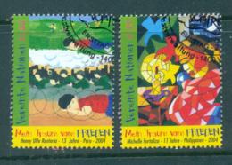 UN Vienna 2004 My Dream For Peace CTO Lot65964 - Vienna – International Centre
