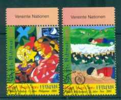 UN Vienna 2004 My Dream For Peace CTO Lot66040 - Wien - Internationales Zentrum