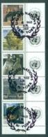 UN Vienna 2005 Sculptures + Labels Collect UN Stamps CTO Lot65606 - Vienna – International Centre