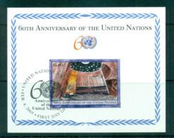 UN Vienna 2005 UN 60th Anniv. MS CTO Lot66004 - Wien - Internationales Zentrum