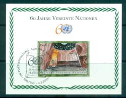 UN Vienna 2005 UN 60th Anniv. MS CTO Lot66077 - Wien - Internationales Zentrum