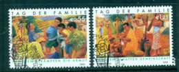 UN Vienna 2006 Intl. Year Of Families CTO Lot65962 - Wien - Internationales Zentrum