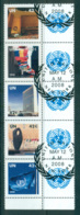 UN Vienna 2008 UN Str + Labels CTO Lot66011 - Wien - Internationales Zentrum