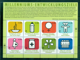 UN Vienna 2009 Aid Sheetlet MUH Lot65968 - Wien - Internationales Zentrum