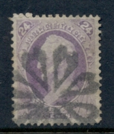 USA 1870-71 Sc#153 24c Winfield Scott, Large Banknote FU - Unclassified