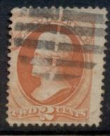 USA 1875-79 Sc#178 Or 183 2c Jackson Vermillion FU - Unclassified