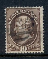 USA 1881-82 Sc#209 10c Jefferson, Large Banknote, Soft Paper FU - Unclassified