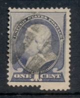 USA 1887 Sc#212 1c Franklin FU - Unclassified