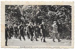 17)   ILE De RE  - Saint Martin En Ré  -  Arrivée D'un Convoi De Rélègués à La Citadelle - Ile De Ré