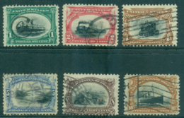 USA 1901 Sc#294-99 Pan American Expo FU Lot33782 - Unclassified