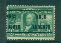 USA 1904 Sc#323 1c Louisiana Purchase Exposition Danbury, Conn Precancel FU Lot67238 - Non Classés