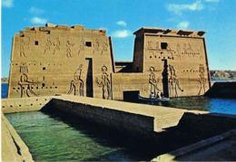 ASWAN - Temple Of Fiala-  EGYPTE - Scans Recto Verso -  Paypal Free - Egypt