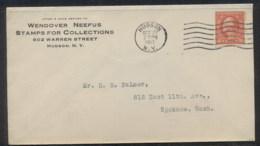 USA 1917 2c Washington Schermack CC Cover, Stamp Dealer - Sin Clasificación