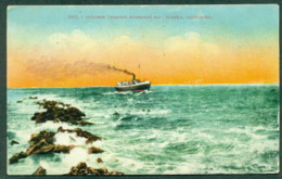 USA 1920c Steamer Crossing Humboldt Bar, Eureka, California, Used Un-franked To Oregon - Unclassified