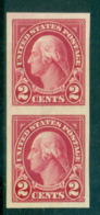 USA 1923-25 Sc#577 2c Washington IMPERF (Flat Plate) Pr MUH Lot68062 - Unclassified