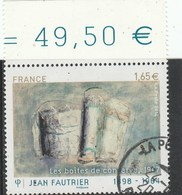 FRANCE 2014 JEAN FAUTRIER LES BOITES DE CONSERVE OBLITERE  YT  4888 - France
