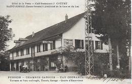74)   SAINT JORIOZ  - Hotel De La Poste Café Restaurant J. COTTET à Proximité De La Gare Et Du Lac - France