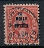 USA 1928 Sc#646 Molly Pitcher Opt FU - Estados Unidos